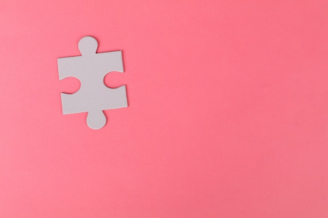 Pink Puzzle Piece
